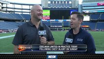 NESN's Doug Kyed, Matt Chatham Gives An Update On Julian Edelman