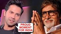 Varun Dhawan EMOTIONAL REACTION On Amitabh Bachchan Winning Dadasaheb Phalke Award
