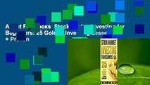 About For Books  Stock Market Investing for Beginners: 25 Golden Investing Lessons + Proven