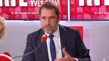 """Incendie dans une usine Seveso à Rouen : """"Ne paniquons pas"""", dit Castaner sur RTL"""