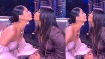 Kareena Kapoor Khan & Priyanka Chopra KISS each other on Dance India Dance sets | FilmiBeat