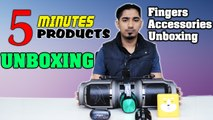 Fingers Accessories Unboxing: Five Products In Five Minutes