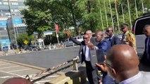 [Vidéo] Des Guinéens accueillent Alpha Condé à New York : ambiance !