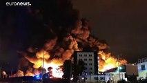 """France: l'Incendie dans une usine de Rouen est """"maîtrisé"""""""