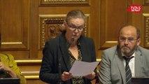 Interdiction de destruction des invendus non alimentaires: amendement d'Angèle Préville (PS) qui prévoit en guise de peine complémentaire: le name and shame