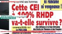 Le Titrologue du 26 Septembre 2019 : Cette nouvelle CEI à 100% RHDP va t-elle survivre ?