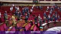 Une minute de silence observée à l'Assemblée nationale en hommage à Jacques Chirac