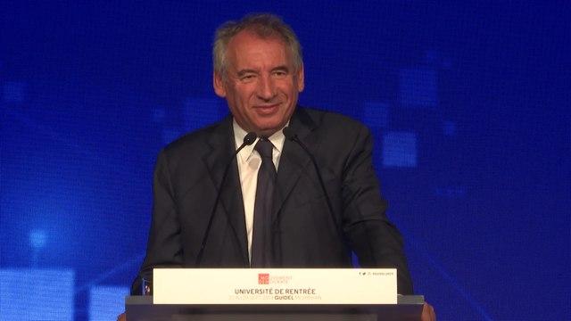 François Bayrou, discours de clôture - UR2019