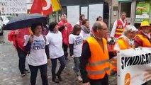 Les urgentistes en grève d'Épinal au contact du public