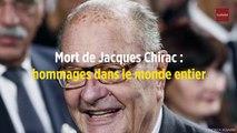 Mort de Jacques Chirac : hommages dans le monde entier