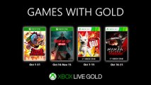 FREE Games with Gold October 2019 | Official Xbox Trailer HD
