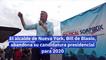 El alcalde de Nueva York Bill de Blasio abandona su candidatura presidencial para 2020