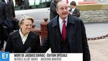 Michèle Alliot-Marie se souvient de Jacques Chirac