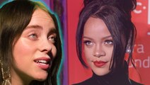 Billie Eilish Reveals Why She's Scared To Meet Rihanna In Emotional Video