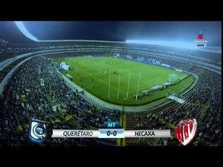 Tiro de Paolo Yrizar destaca en el Gallos contra Rayos   Querétaro vs Necaxa