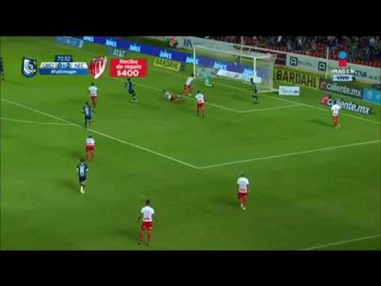 Aké Loba anota gol tras recibir sorprendente pase | Querétaro vs Necaxa