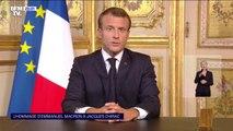 """Emmanuel Macron: """"Le président Chirac incarna une certaine idée de la France"""""""