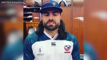 Tom Brady, Nate Ebner Cheer On USA Rugby At World Cup