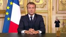 Revoir l'intégralité de l'hommage très émouvant d'Emmanuel Macron ce soir à 20h au Président Jacques Chirac
