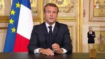 """""""Nous perdons un homme d'Etat que nous aimions autant qu'il nous aimait"""": l'hommage d'Emmanuel Macron à Jacques Chirac"""