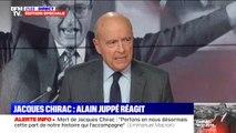 """""""C'était tout simplement la vérité"""": Alain Juppé défend Jacques Chirac sur sa petite phrase sur """"le bruit et l'odeur"""""""