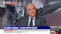 """Alain Juppé: """"Jacques Chirac a toujours su trouver le bon mot, au bon moment, pour venir en soutien"""""""