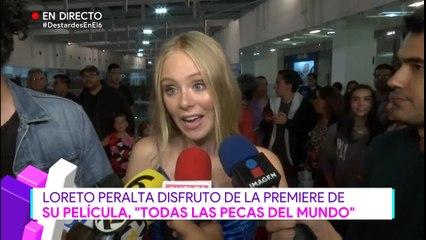 Loreto Peralta habla sobre su nueva película
