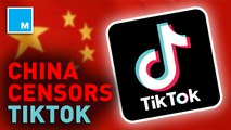 TikTok confirms it censored content critical of China