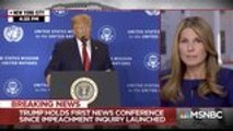 MSNBC's Nicolle Wallace Cuts Away From Trump's Ukraine Speech to Fact-Check Him | THR News