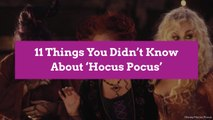 6 Things You Didn't Know About 'Hocus Pocus'