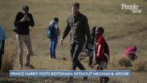 Prince Harry Continues Royal Tour in Botswana While Meghan Markle and Archie Stay in South Africa