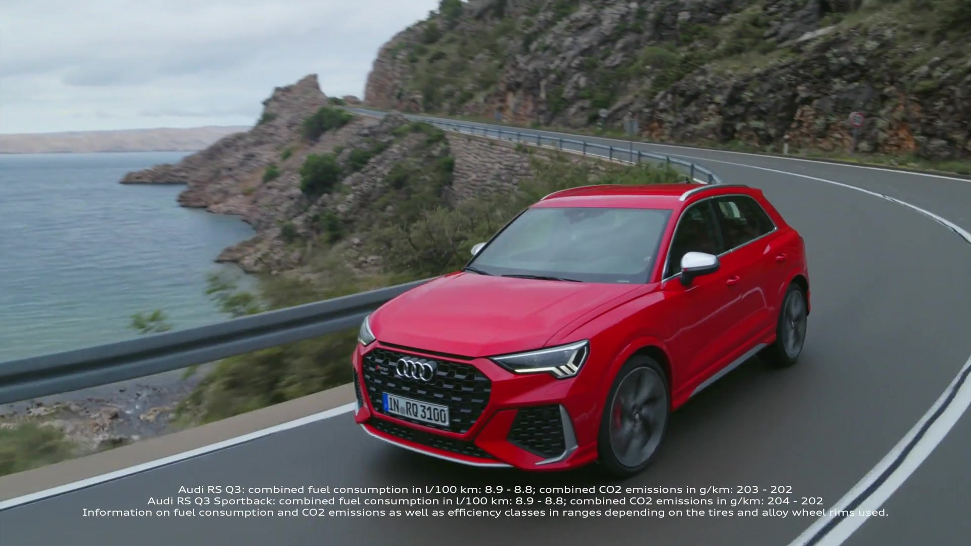 Audi Rs Q3 And Audi Rs Q3 Sportback Trailer Video Dailymotion