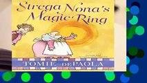 Strega Nona s Magic Ring (Strega Nona Book)  Review