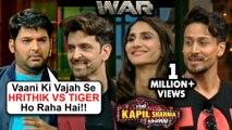Kapil Sharma COMEDY With Hrithik Roshan Tiger Shroff Vaani Kapoor   The Kapil Sharma Show   WAR