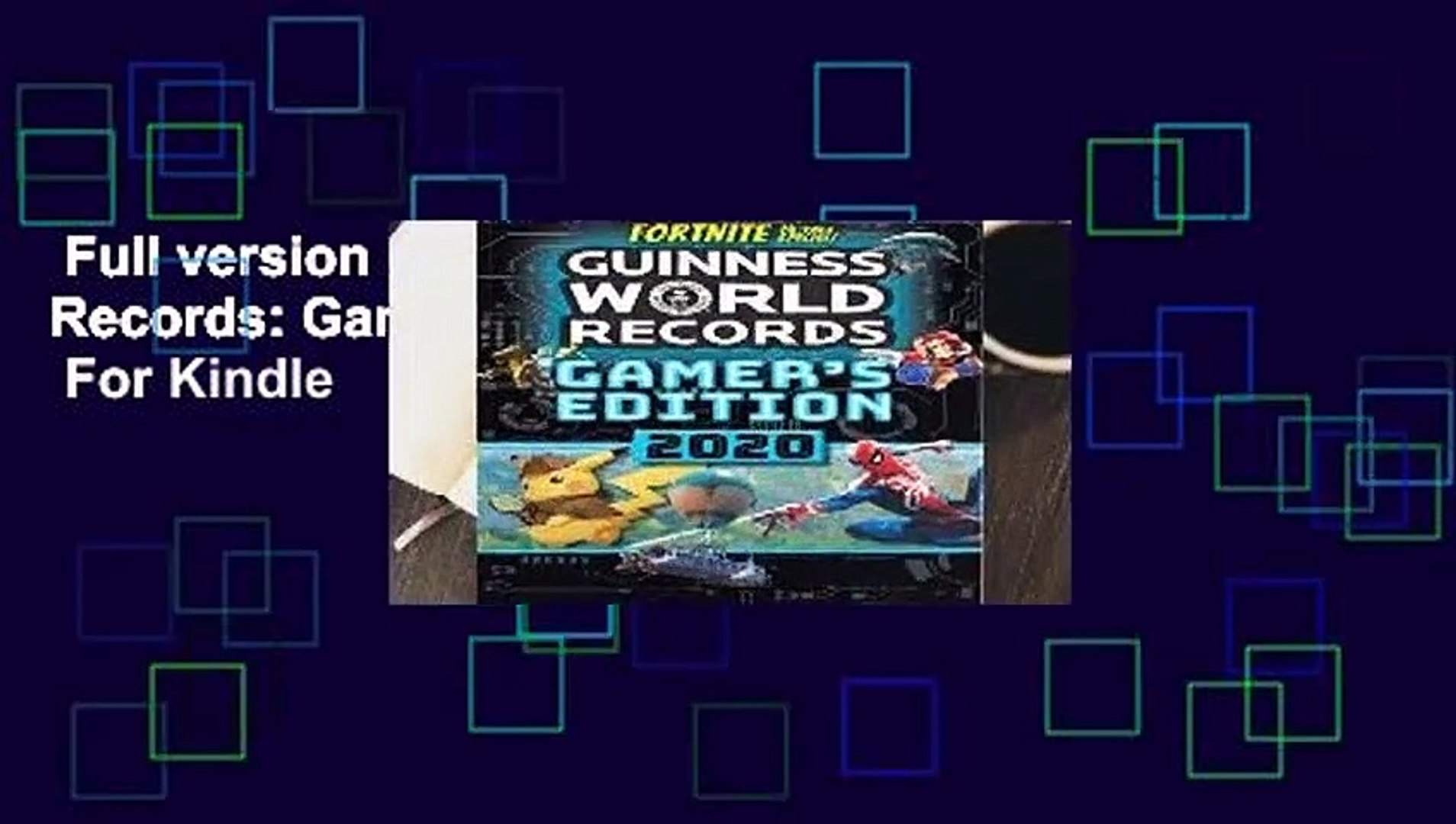 Full version  Guinness World Records: Gamer s Edition 2020  For Kindle