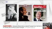 """""""Sans chichi"""" et """"tellement Français"""": les unes de la presse au lendemain de la mort de Jacques Chirac"""