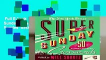 Full E-book  The New York Times Super Sunday Crosswords Volume 5: 50 Sunday Puzzles  Best Sellers