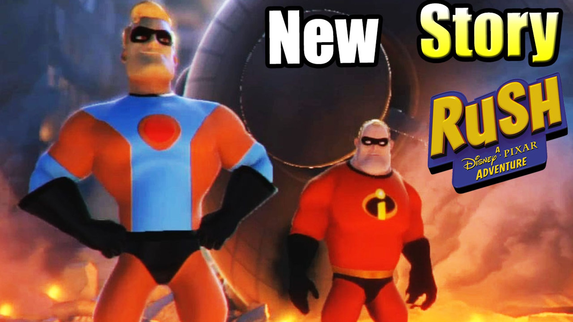 The Incredibles New Story — Rush A Disney's Pixar Adventure {XBox One GamePlay}