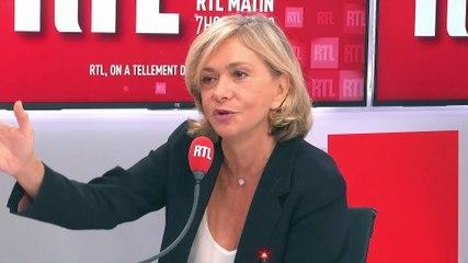 Valérie Pécresse - RTL vendredi 27 septembre 2019