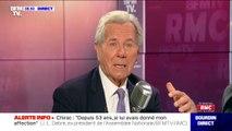 Jean-Louis Debré revient sur la rivalité publique entre les deux anciens présidents de la République