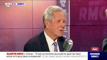 """""""Il prenait ma main et ne la lâchait pas"""", Jean-Louis Debré évoque sa relation avec Jacques Chirac, dans les derniers moments de vie de l'ancien Président"""