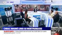 Chirac inhumé lundi auprès de sa fille - 27/09