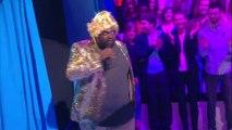 Les invités de Baba (Patrick Fiori, Issa, Nikos) devaient parodier des chanteurs