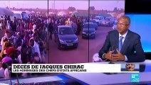 Décès de Jacques Chirac : une histoire d'amitiés parfois controversée avec l'Afrique