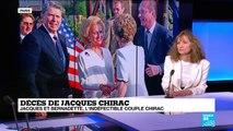 Décès de Jacques Chirac : Jacques et Bernadette, l'indéfectible couple Chirac