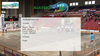 Quarts de finale, tir de précision U23, Mondial Jeunes U18 et U23, Alassio 2019