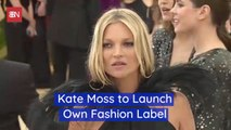 Kate Moss Wants In On The Fashion Label Business