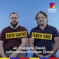 Helper Drone révolutionne le sauvetage en mer