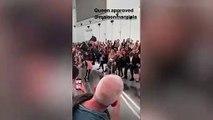 Anna Wintour impressionnée par le catwalk de Leon Dame