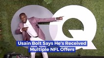 Usain Bolt And The NFL